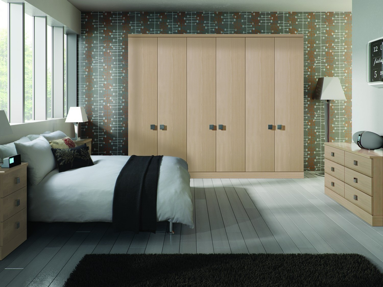 large bedroom furniture. Oak Style Fitted Bedrooms Furniture Liverpool Designed For Our Client In City Centre, Including \ Large Bedroom