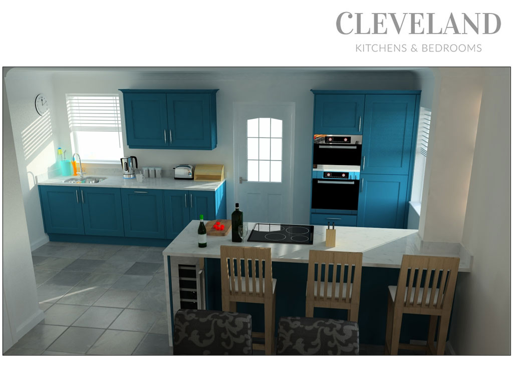 the above image show one of our example 3d kitchen plans designed by our in house kitchen design team having a 3d plan drawn up is the perfect way to - In House Kitchen Design